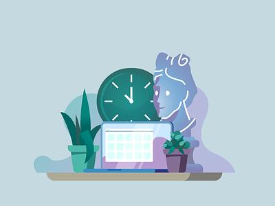 workspace workspace flat illustrator