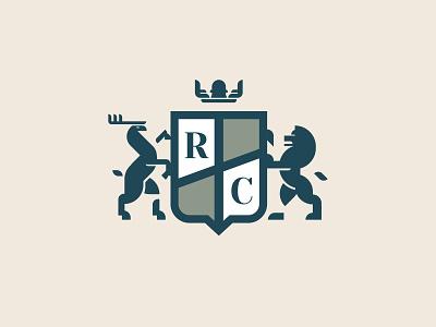 r.c. workspace graphic design dribble flat branding vector design logo illustration