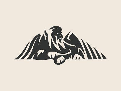 winged lion debut branding graphic design design vector flat dribble illustration
