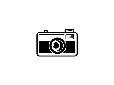 Vintage 35mm Film Camera Black and White design nostalgia iconic revivalism revival past vintage inspired mascot film camera camera vintage 35mm film camera