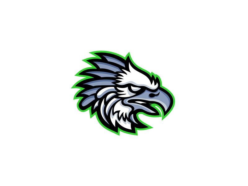 american harpy eagle mascot by aloysius patrimonio dribbble dribbble