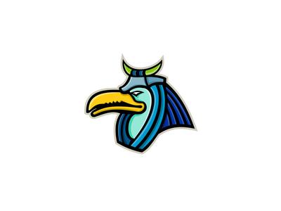 Thoth Egyptian God Mascot