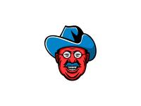 Theodore Roosevelt Rough Riders Mascot