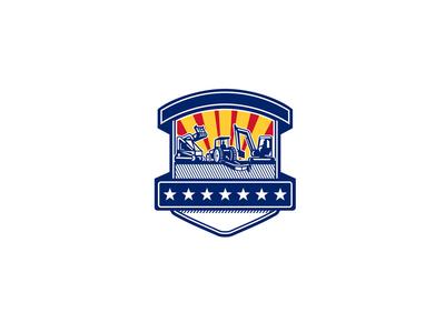 Mulcher Bush Hog and Excavation Services Badge