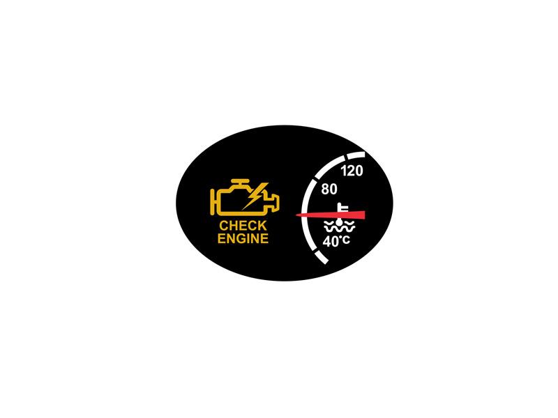 Check Engine Warning Symbol Icon By Aloysius Patrimonio Dribbble
