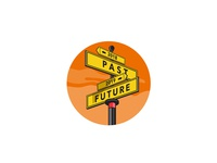 Past 2018 and Future 2019 Signpost Retro