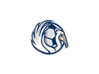 Pelican Wings Soccer Retro