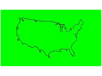 United States of America Self-Animated Drawing 2D Animation