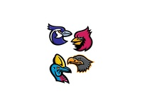 Bird Wildlife Mascot Collection