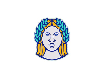 Ceres Roman Agricultural Deity Mascot