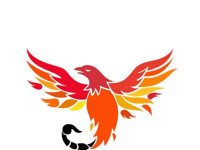 Phoenix With Scorpion Tail Icon