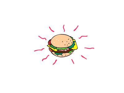 Cheeseburger Cartoon Drawing