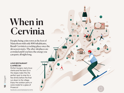 When in Cervinia