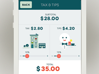 Bill-Splitting App - Tax & Tips
