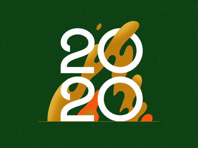 2020 Dumpster Fire #20Gifsfor2020 liquid texture animated year text bonfire adobe animate cel animation frame by frame after effects loop looping gif animation fire typography 2020 flat vector illustration