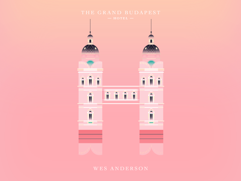 Grand Budapest Hotel Wallpaper: The Grand Budapest Hotel Dropcap 2 By Elen Winata