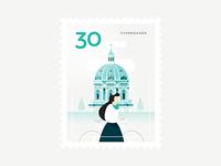 Stamp : Cities #9 - Copenhagen