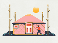 Airbnb 2018 Travel Trends - Yurt