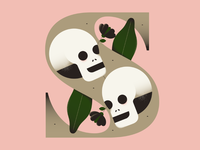 #36DaysofType - Skeletons