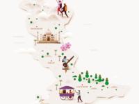 Map - North India