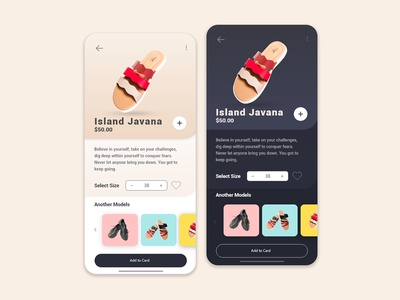 Shoes Store App UI