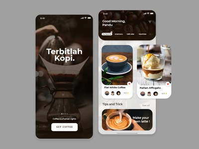 Coffee shop | UI Design