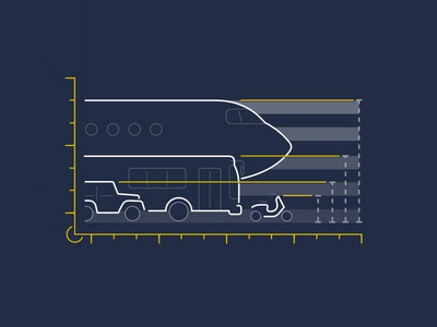 Public Transportation Illustration