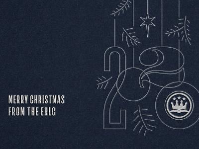 2020 Christmas Card design illustration branch tree greeting star ornament card 0 2 2020