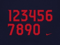 Arizona Football Uniform Number Set