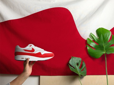 Air Max 1 Flag 1 max nike air flag banner sports sneakers shoes heraldry