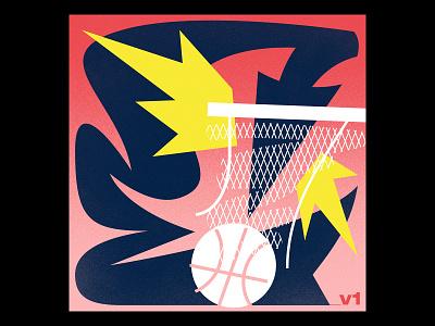 Basketball Illustration arrow design shot sports goal hoops illustration basketball