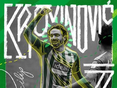 Krovinović #7 procreate football wba illustration design typography handlettering hand drawn krovinovic