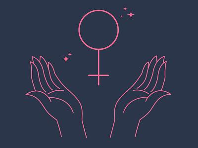 Nasty Women icon vector design illustration feminist female woman nasty womensmarch