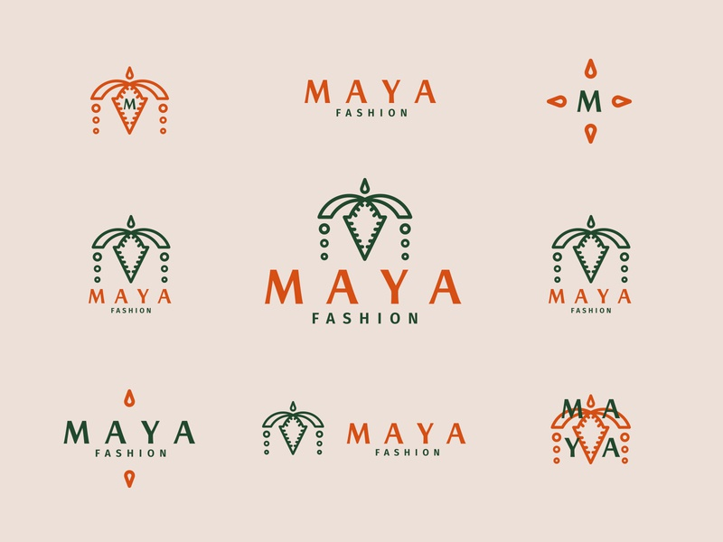 MAYA fashion - logos and marks