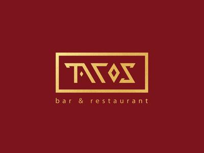 """Tacos"" bar & restaurant logo"