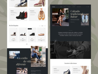 Shoe's Ecommerce Homepage Redesign ecommerce business ecommerce shop web design shoes store store redesign ecommerce design ecommerce ui user interface layout minimal concept typography modern website webdesign clean