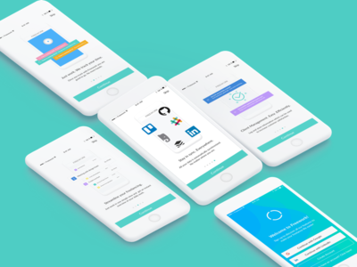 Onboarding Illustrations - Time Tracking