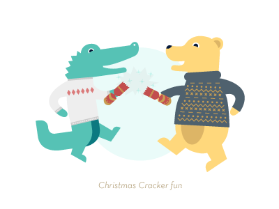 Christmas Crackers Cartoon.Christmas Cracker Time By Emmeline Meborn Hubbard For