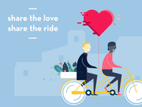 Share the love, share the ride!