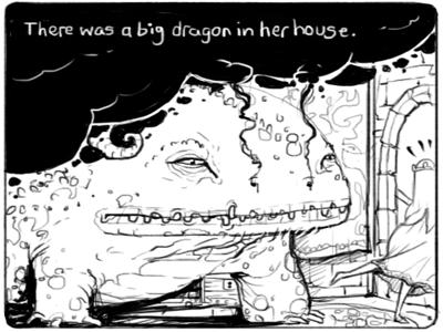 Big Towers webcomic illustration comic characters dragon