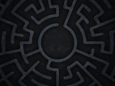 A-maze-ing maze heist stone design