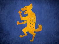 Hyena Coat of Arms