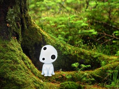 Kodama icon ghibli forest iconfactory