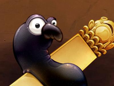 Zeneba's Gold Seal icon ghibli curse drawing iconfactory