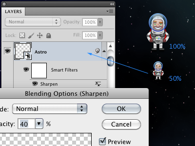 Smart Astro astronut