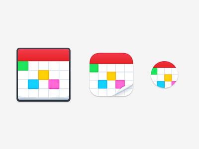 Fantastical 3 App icons flexibits fantastical calendar icon watch ios mac
