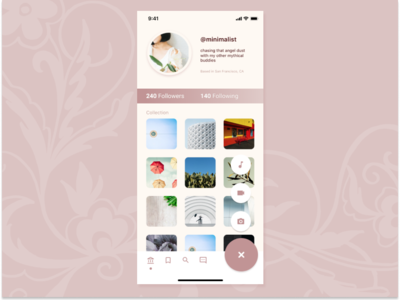 Daily UI 6: User Profile: User Profile