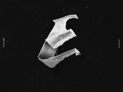 E alphabet 36daysoftype lettering lettering challenge lettering art illustrator typography illustration design