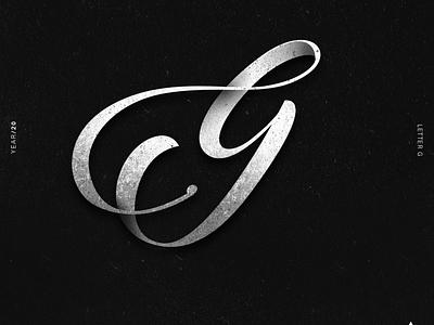G alphabet 36daysoftype lettering lettering challenge lettering art illustrator typography illustration design
