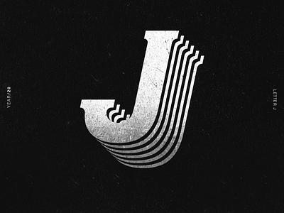 J alphabet 36daysoftype lettering lettering challenge lettering art illustrator typography illustration design